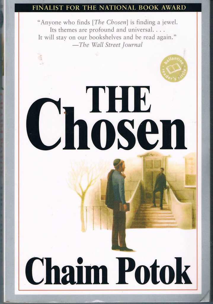 a book report on the chosen by chaim potok The chosen by: potok, chaim summary: the book is narrated by, reuven  malter, tells about his neighborhood and the way people live reuven then.