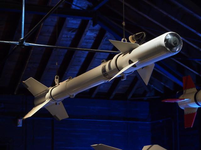 Sidewinder AIM-9B missile