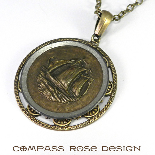 Ring In The Steampunk Decor To Pimp Up Your Home: Victorian & Steampunk Jewelry By Compass Rose Design