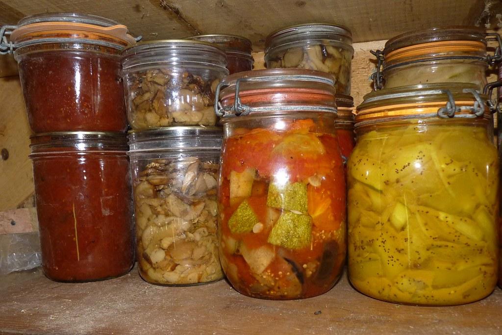 Tomatoes, ceps, ratatouille, cucumber pickles | hardworkinghippy ...