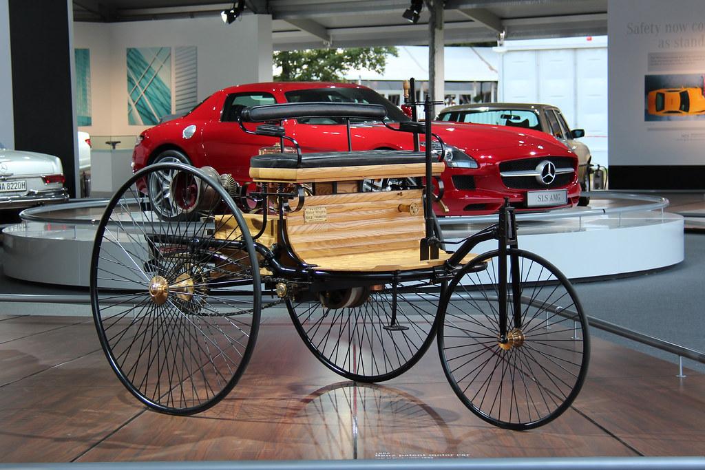 87 benz patent motorwagen 1898 replica benz patent motor flickr. Black Bedroom Furniture Sets. Home Design Ideas