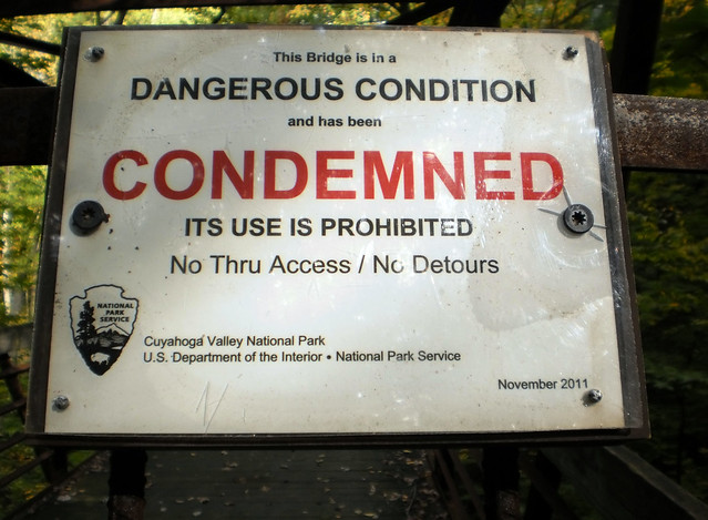 Condemned Sign  Flickr - Photo Sharing-3090