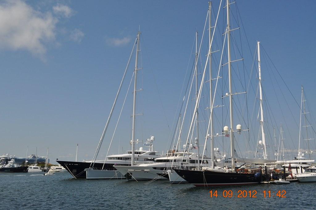 Sailboats in newport ri louis l jagschitz state pier 9 for Fishing newport ri