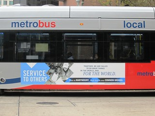 Common Ground Metro Bus Side - Service to Others | by Marymount University
