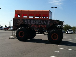 Monster truck rides from Sargent Smash at show | by todd_dills