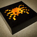 Lego spider light box mosaic
