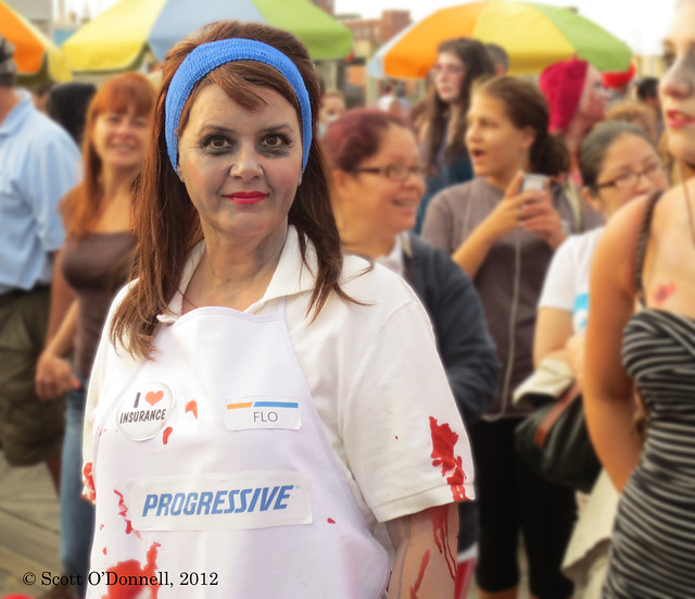 Zombie Flo Flickr Photo Sharing