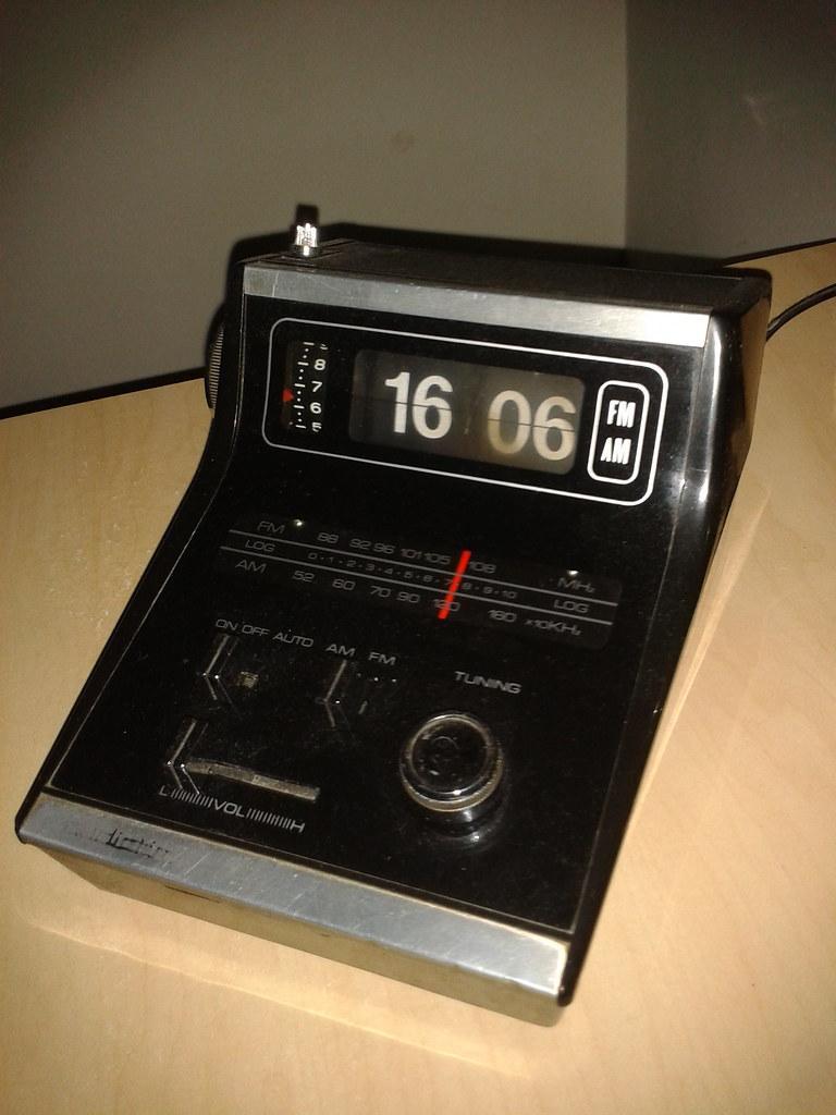Radio 1970 Audiotim 1970s Clock Radio