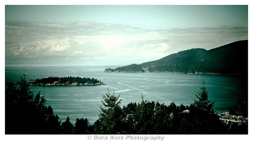 Howe Sound and Eagle Island | by Dora Korz- 21 Mpix Photography