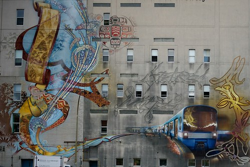 MONTREAL FRESQUE MURALE OLD BREWERY | by Serge klk