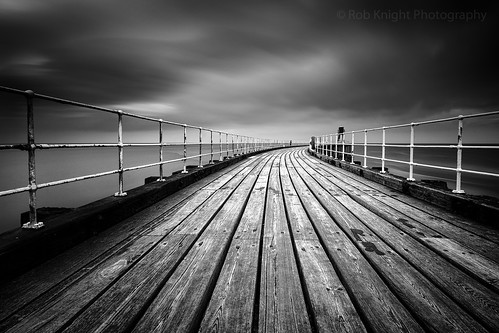 Dark Pier | by ROB KNIGHT photography