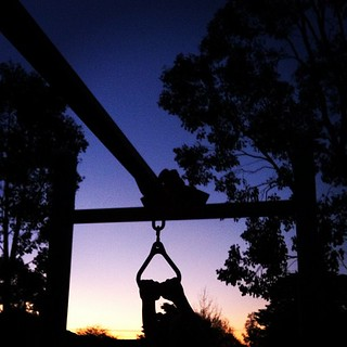 2 days in one for #fmsphotoaday - night and things we do most weekends (hanging around!) | by wonderwebby