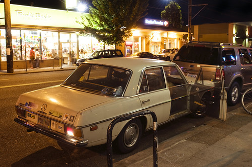 1972 mercedes benz 220 diesel portland oregon curtis for Mercedes benz portland oregon