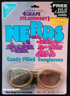 Willy Wonka Nerds Candy Sunglasses - 1986 | by Waffle Whiffer