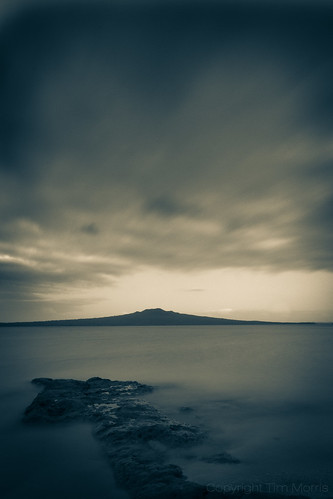 Rangitoto and the sky | by timmelm
