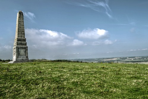 Earl of Yarborough Monument - Culver Down - Isle of Wight | by Rob Jennings2