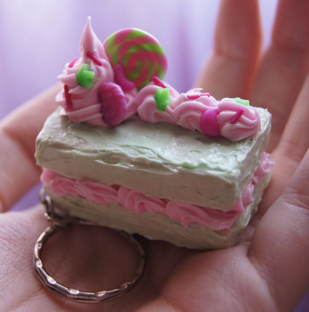 kawaii cute squishy keychain cake cookie biscuit hand ma flickr. Black Bedroom Furniture Sets. Home Design Ideas