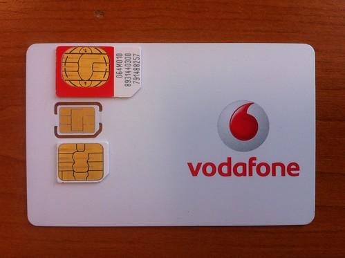 Vodafone Iphone  Sim Free