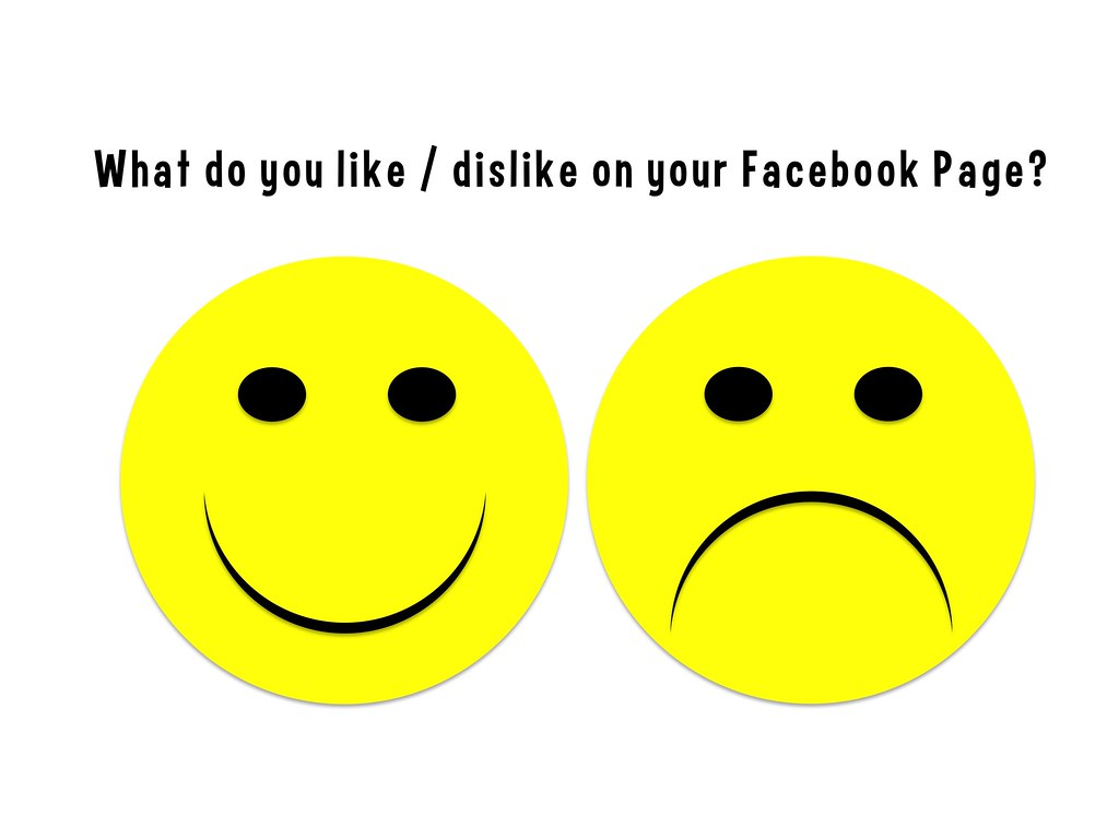 What Do You Like Dislike On Your Facebook Page What