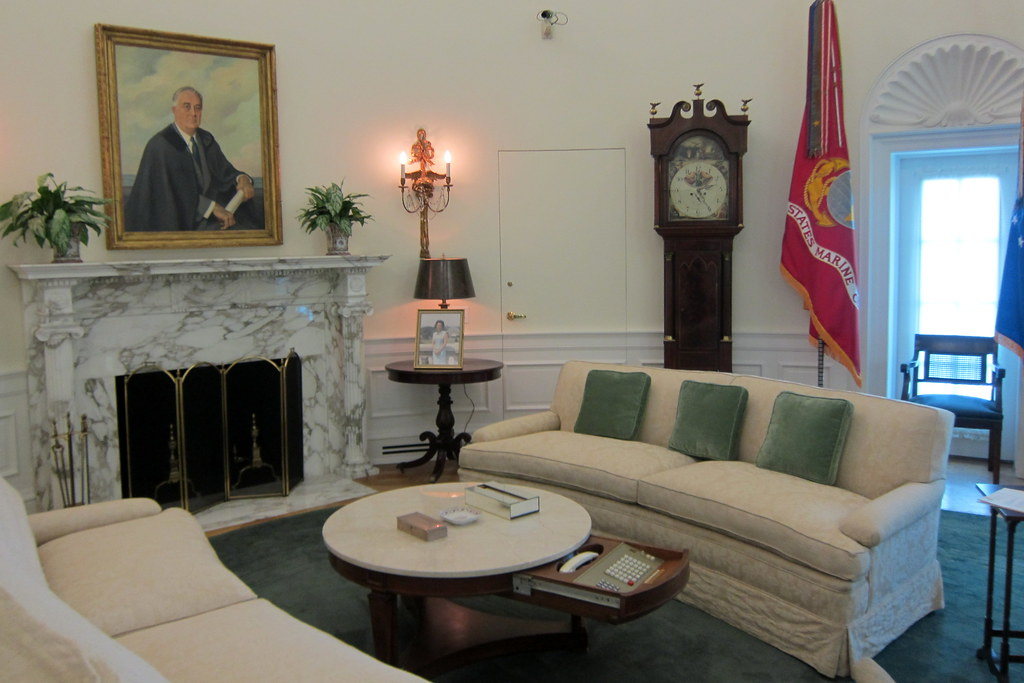 Austin Ut Lbj Library And Museum Oval Office This