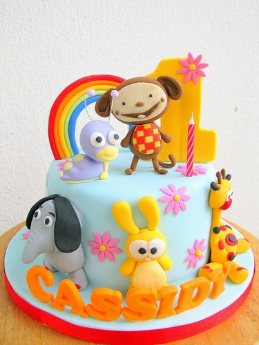 Cake Design Baby Tv : Our first ever Baby TV - Babyhood cake Joanne Fam Flickr