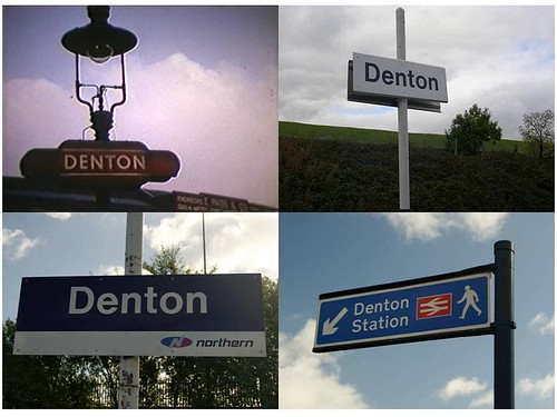 Denton Sign Of The Times Denton Station Manchester Road Flickr
