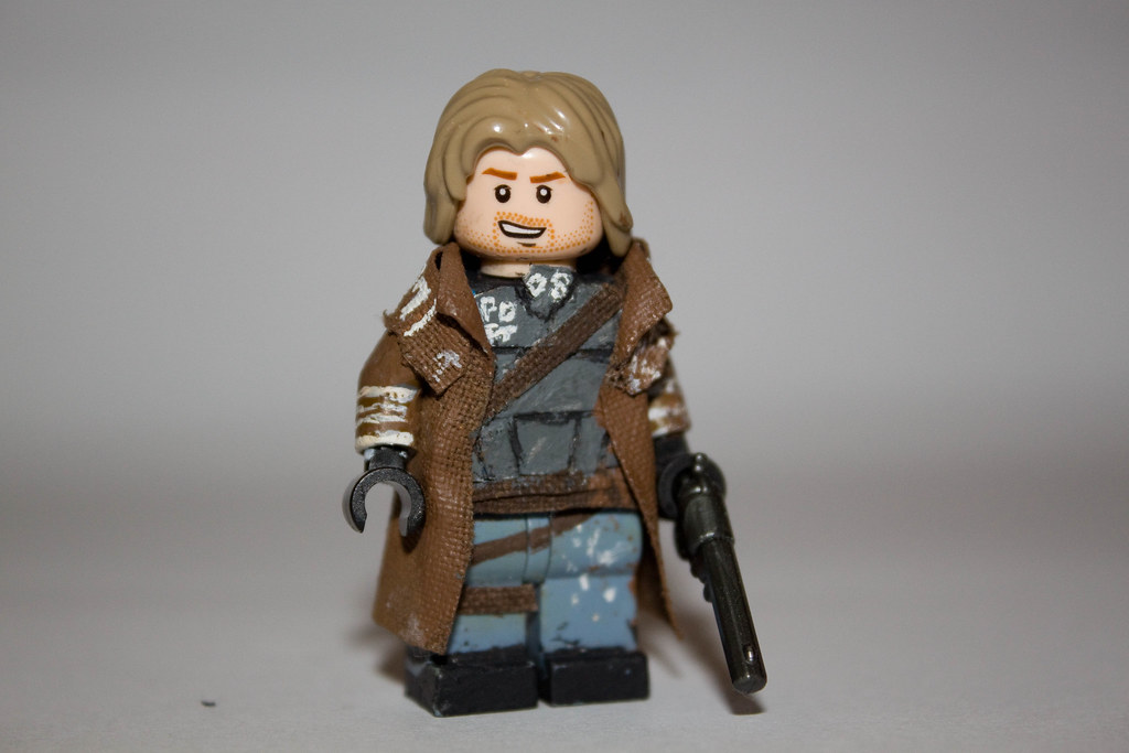 custom lego fallout new vegas ncr ranger another lego cust flickr. Black Bedroom Furniture Sets. Home Design Ideas