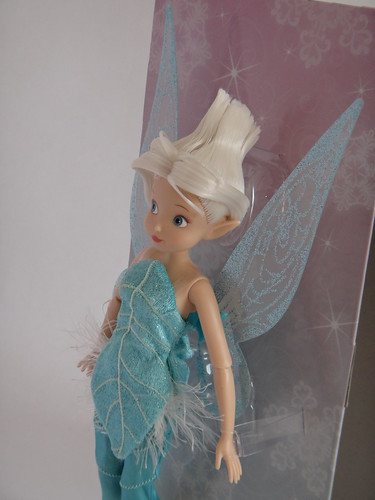 Disney Fairies Periwinkle 10'' Doll - First Look - Deboxing - Attached to Backing - Midrange Right Front View | by drj1828