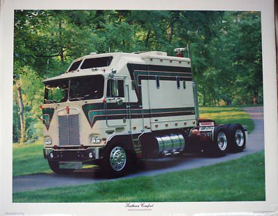 Quot Southern Comfort Quot Kenworth K100 Double Eagle Sleeper Post