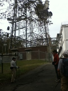 ATT used to relay information Replaced by cell towers today. Standing at the highest point in Rockland . | by nwclibrary