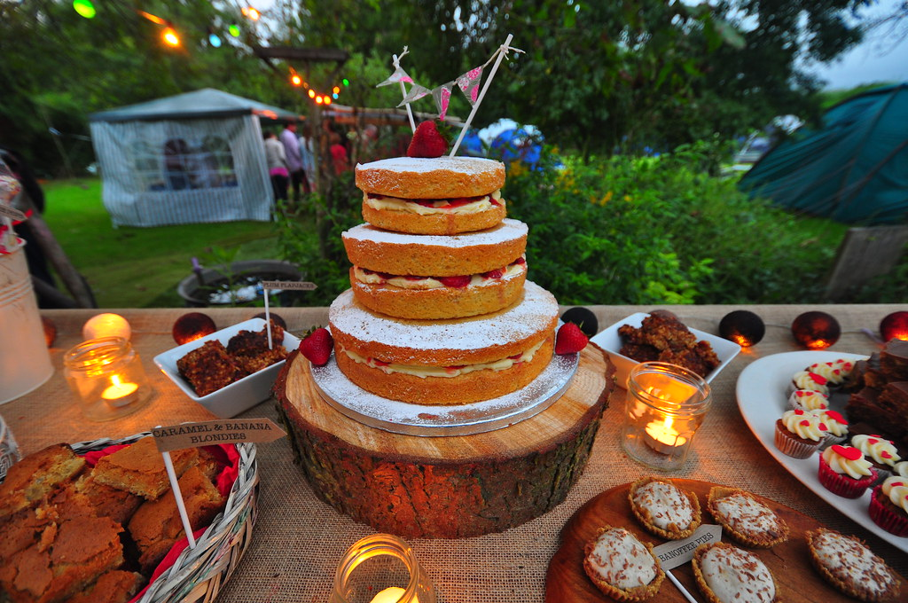 Rustic dessert table for 30th wedding anniversary party flickr