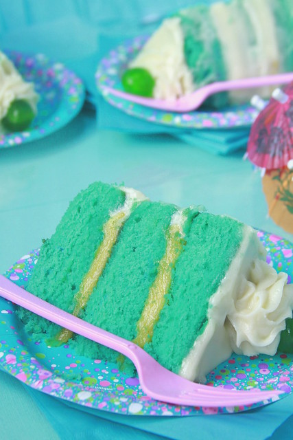 Poolside Cake