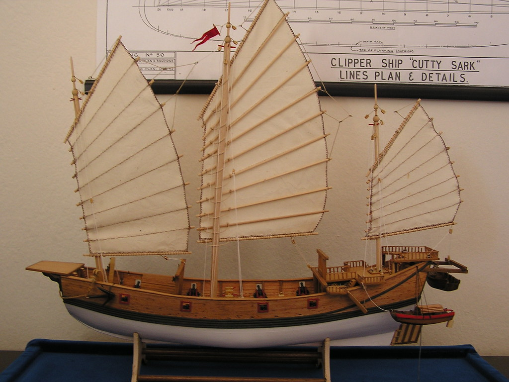 Chinese Junk Model Chinese Junk | by Sceatha