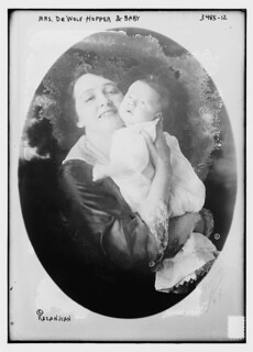 Mrs. De Wolf Hopper and baby  (LOC) | by The Library of Congress