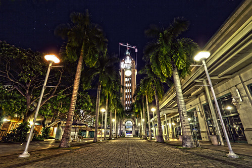 Aloha Tower at Night | by Mark Payton Photography