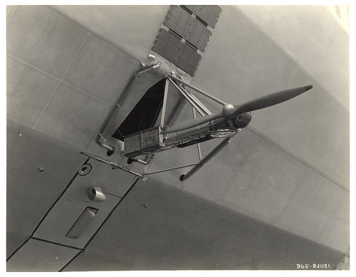 Photograph of a Propeller on a Dirigible, ca. 1933 | by The U.S. National Archives