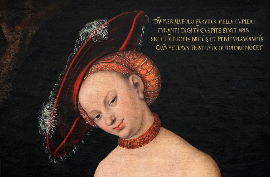 Cranach The Elder Venus And Cupid Cranach The Elder Venus And