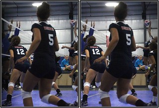 Blinn College vs. Hillsborough Community College (Tampa, FL), Woodlands WAVE Patriots Day Tournament, Spring, Texas 2012.09.08 | by fossilmike