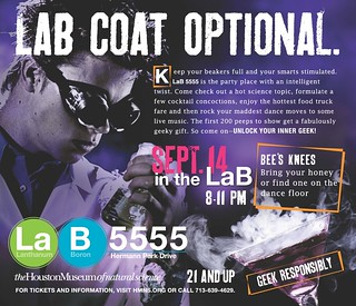 LaB 5555 | Bee's Knees | by Houston Museum of Natural Science