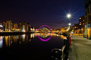 Riverside walk in Newcastle. | by paul downing