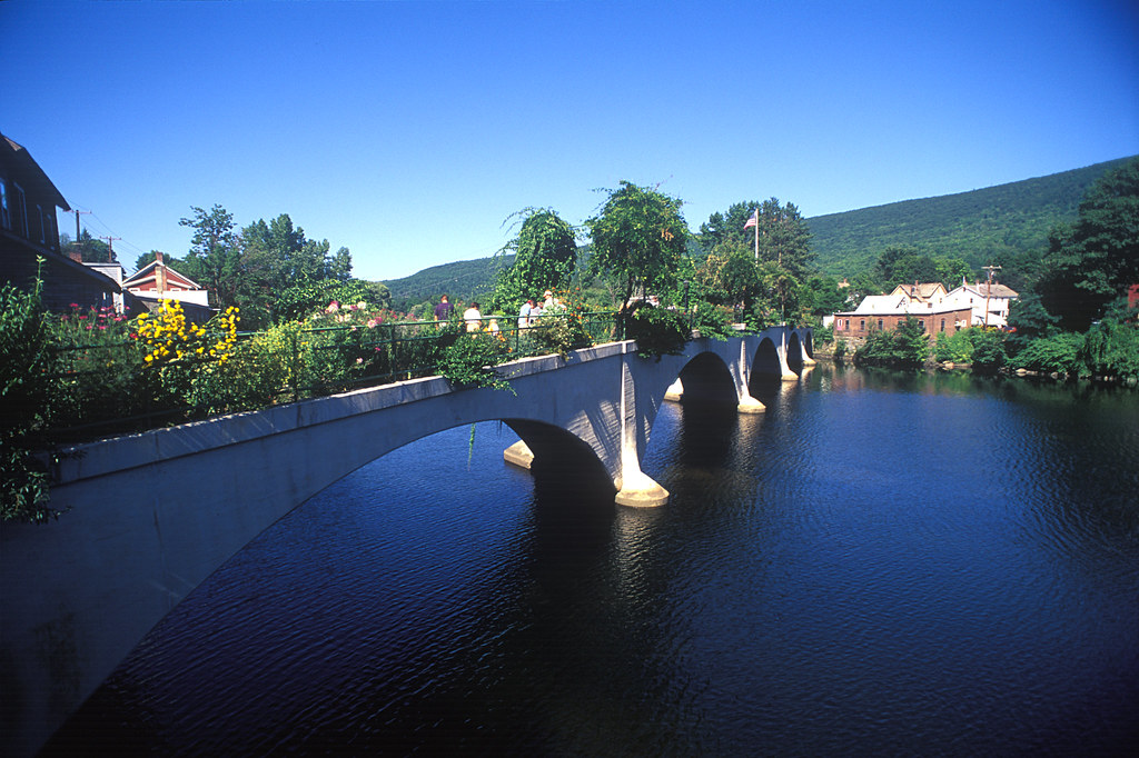 Bridge Of Flowers Mohawk Trail Shelburne Falls Credit