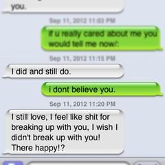 why do i hate my ex boyfriend