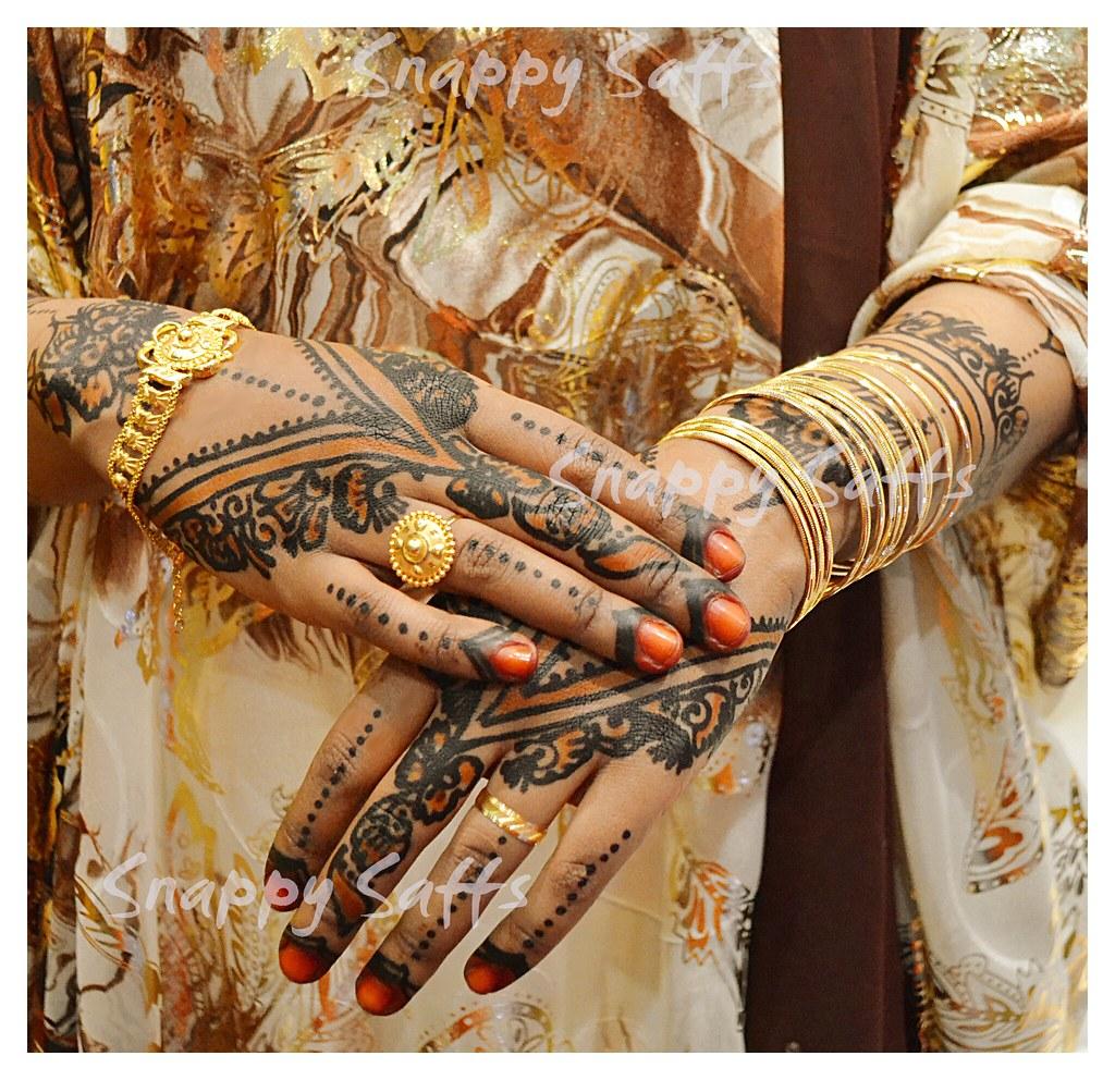 Bridal Gold And Black Henna Snappy Saffs Flickr