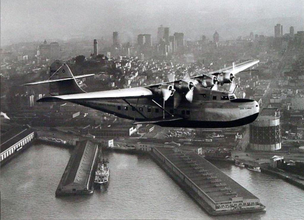 Pan American China Clipper 1935 A Pan American Airways
