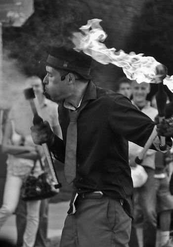 Roncesvalles Village Polish Festival B&W | by jethros_tale