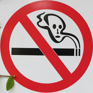 No Smoking symbol, embellished | by Carbon Arc