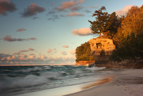 Pictured Rocks - Chapel Beach | by cedarkayak