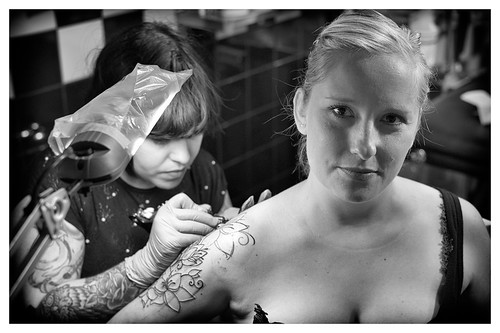 Making of New School Tattoo #6. | by Johannes Huwe