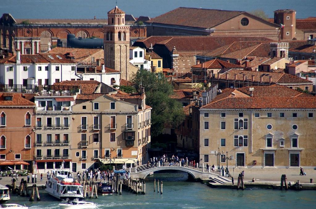 Venedig Aussicht Vom Campanile Der Chiesa Di San Giorgio Flickr