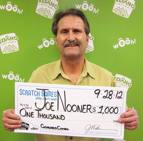 Joe Nooner - $1,000 Cashword Combo | by Idaho Lottery